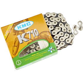 KMC K-710 Bicycle Chain grey/black